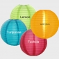 "14"" 4 Colors Even Ribbing Nylon Lantern(12 pieces)"