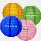"36"" 4 Colors Even Ribbing Nylon Lantern(12 pieces)"
