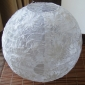 "24""Hanging Floral Lace Fabric Lanterns"