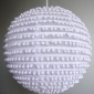 "14"" Pearl Fabric Lanterns"