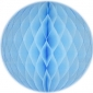 "16"" Baby blue Paper Honeycomb Lanterns"