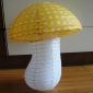 Polka Small Dot Yellow Mushroom Paper Lanterns