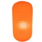 Orange Capsule Shaped Paper Lantern