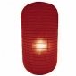 Burgundy Capsule Shaped Paper Lantern