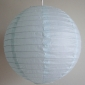 12 Inch Even Ribbing Ice Paper Lanterns