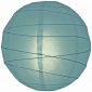 20 Inch Uneven Ribbing Slate Blue Paper Lanterns