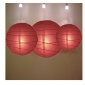 3 pack Mauve paper lanterns wholesale(50 pks of case)