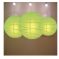 3 pack Light lime paper lanterns cluster(50pks of case)