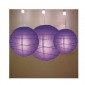 3 pack purple paper lanterns wholesale(50pks of case)
