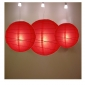 3 pack red paper lanterns wholesale(50pks of case)