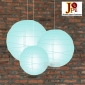 3 pack Ice blue paper lanterns wholesale(50pks of case)