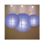 3 pack blueberry paper lanterns (50pks of case)