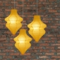 Yellow Beehive Paper Lantern-3 pack