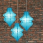 Turquoise Beehive Paper Lantern-3pack
