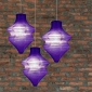 Purple Beehive Paper Lantern-3pack