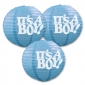 "10"" It's A BOY Paper lantern for party-3 pack"