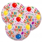 "10"" Happy birthday Paper lantern 3pack-(50sets for 150 lanterns)"