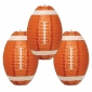 Shamrock Football Paper lantern for party-3 pack