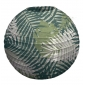 "12""Nylon patterned lantern-dark green"