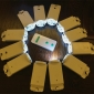 12 pcs Led terminal come with Remote control