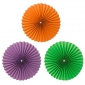 "Wholesale 12"" Accordion Paper Fan (150 of case)"