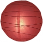 "12"" Irregular Bamboo Ribs Paper Lanterns (150 of case)"
