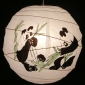 "16"" Panda cross ribs Paper Lantern wholesale (150 of case)"