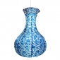 Blue and white porcelain paper lantern