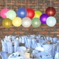12 Assorted Color Paper Lanterns