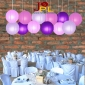 "6-16"" 4Assorted Color Paper Lanterns"
