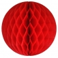 "16"" Red Paper Honeycomb Lanterns"