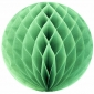 "8"" Light lime Paper Honeycomb Lanterns"