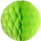 "8"" Light green Paper Honeycomb Lanterns"
