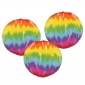 12 inches Tie dye paper lanterns
