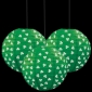 12 inches Shamrock Paper Lanterns