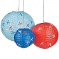 "12"" Up & Away Hanging Paper Lanterns"