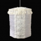 Cylinder Fabric Lace Flower Lamp