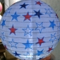 "12"" white star nylon lantern"