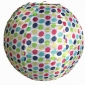 "16"" Colorful color polka dot nylon lantern"
