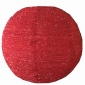 "12"" Red Plush fabric lantern lantern"
