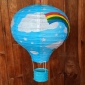 "12"" Rainbow Air paperlanterns-BLUE"