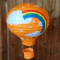 "12"" Rainbow Air paperlanterns-ORANGE"