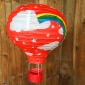 "12""Red Rainbow Air Balloon Paper Lanterns(100 of case)"