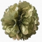 "8"" Tissue Paper Pom Poms Ball - Gold (4 pieces)"