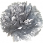 "12"" Tissue Paper Pom Poms Ball - SILVER(4 pieces)"