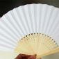"9"" White Paper Hand Fans(200 of case)"