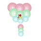 12-set paper lanterns wholesale baby colors(25sets/case)