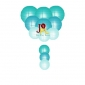 12-set paper lanterns wholesale Cyan Melody (25sets/case)