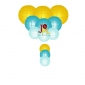 12-set paper lanterns wholesale Yellow turquoise Melody (25sets/