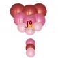 12-set paper lanterns wholesale Mauve Melody(25SETS/CASE)